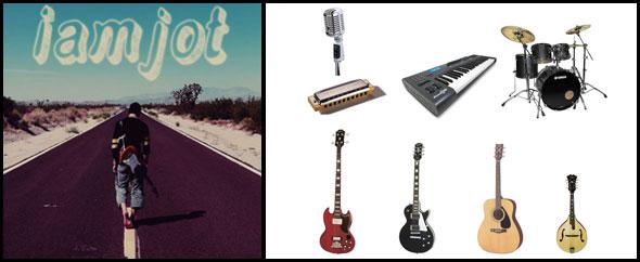 Iamjot 590 instruments