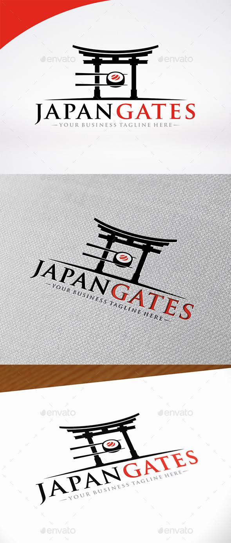 Sushi Japan Gate Logo