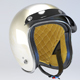 White Retro Motorcycle Helmet