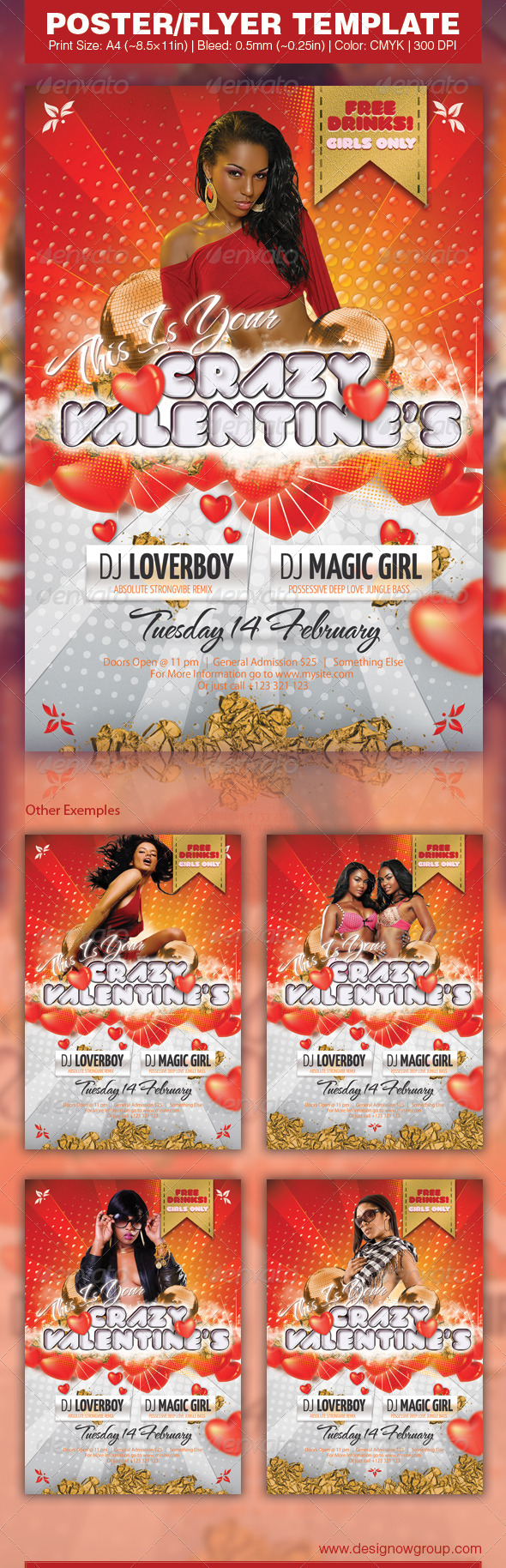Crazy Valentines - Clubs & Parties Events