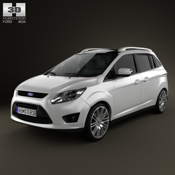 3DOcean Ford Grand C-max 2011 1316658
