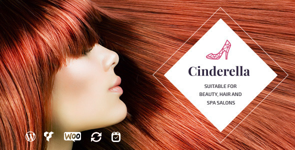 8 - Cinderella | Theme for Beauty, Hair and SPA Salons