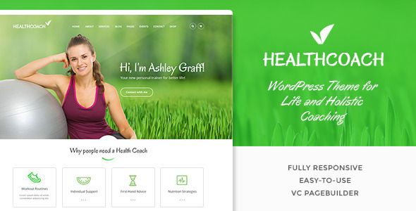 1 - Health Coach | WP Theme for Holistic Life Coaching