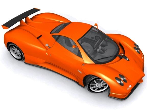 Pagani Zonda C12 - 3DOcean Item for Sale