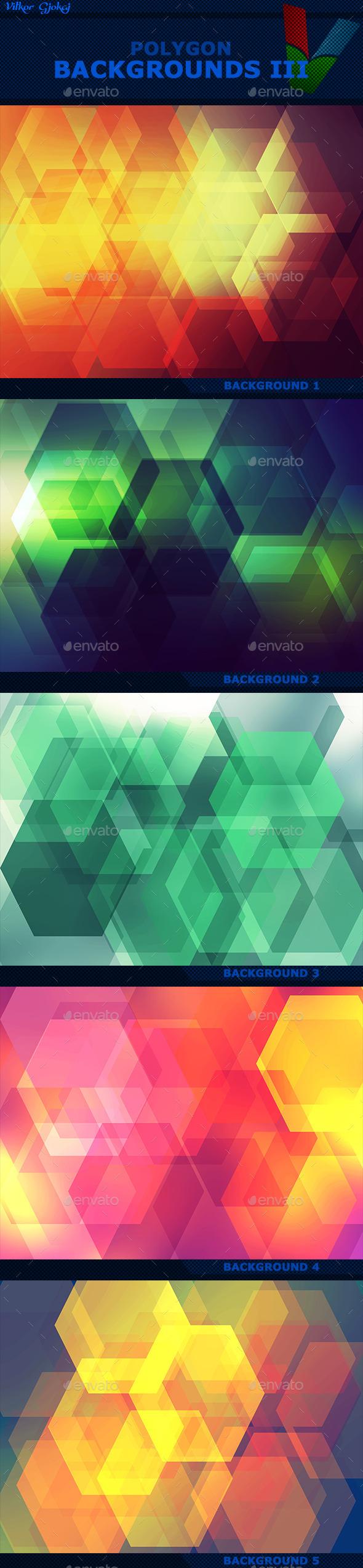 Polygon Backgrounds III