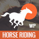Happy Rider - Horse-Riding School WordPress Theme