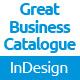Clean Business Catalogue / Brochure - GraphicRiver Item for Sale