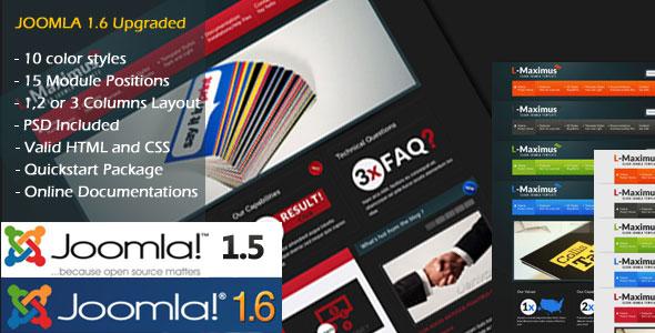 L-Maximus Joomla Theme - 1_presentation