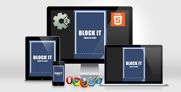 Block It - HTML5 Casual Game