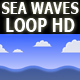 Sea Waves Animated HD - VideoHive Item for Sale