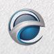 3D e Logo / Global E Circle / Letter E / e Learning / Logo Templates