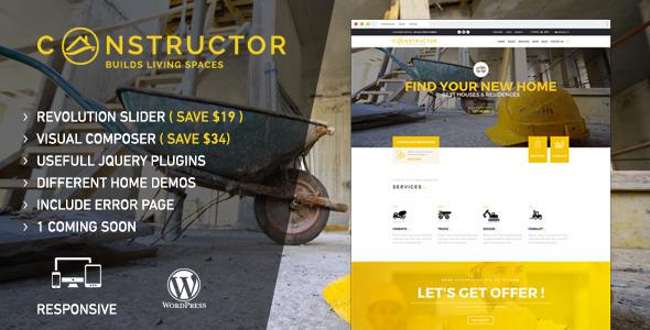 Constructor | WordPress Theme