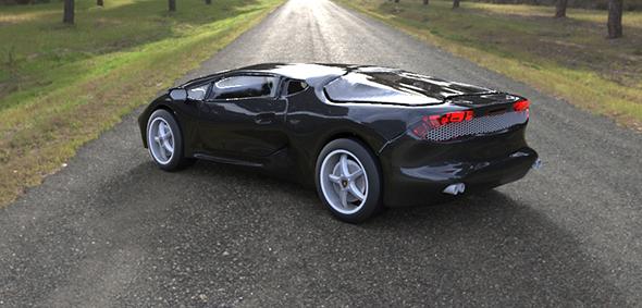 3DOcean Lamborghini Hurricane Concept 13162955