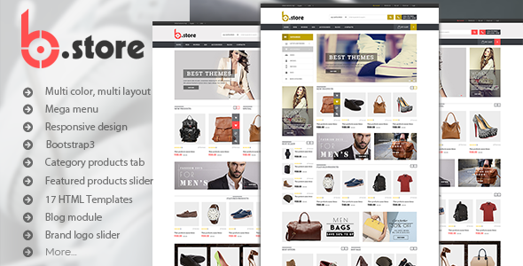 BStore - Responsive eCommerce HTML5 Template