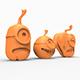 Pumpkin minion 3D print