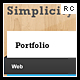 Simplicity - One-Page Portfolio - ThemeForest Item for Sale
