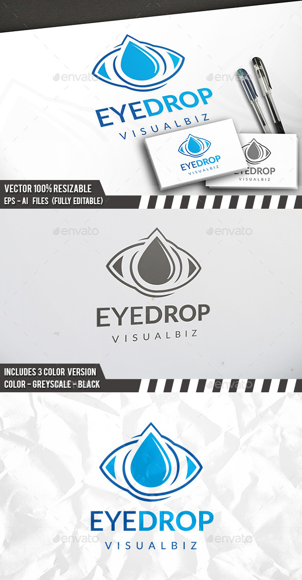 Eye Drop Logo