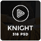 Knight | Multipurpose PSD Template
