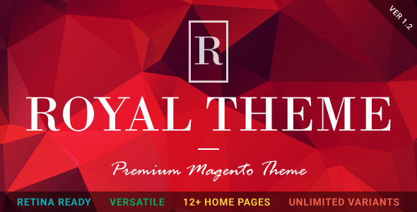ROYAL - Fluid Responsive Magento Theme