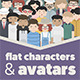 Flat Characters & Avatars