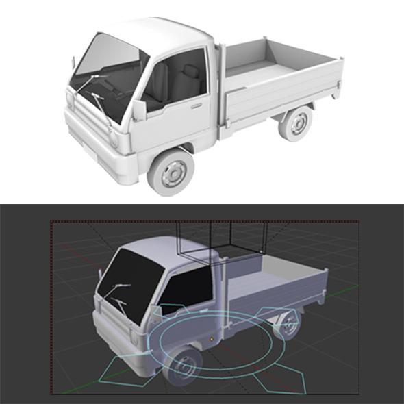 3DOcean pickup truck 13177967