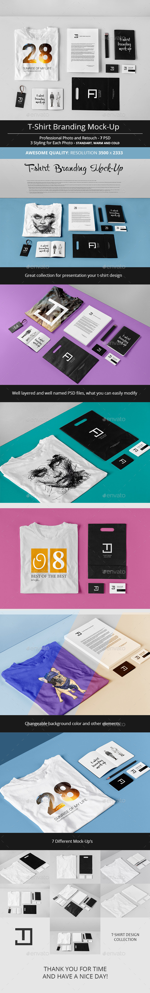 T-Shirt Branding Mock-Up