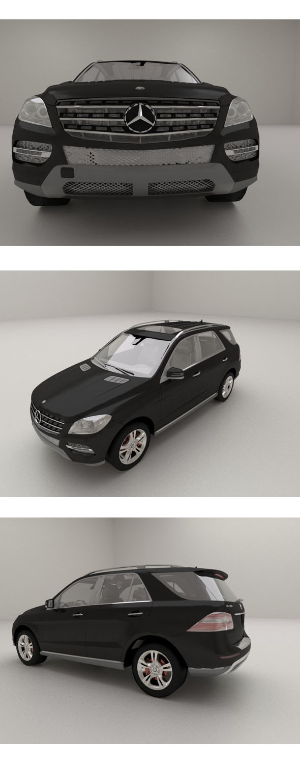 2012 Mercedes-Benz M-Class - 3DOcean Item for Sale