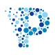Particle Media - Letter P Logo
