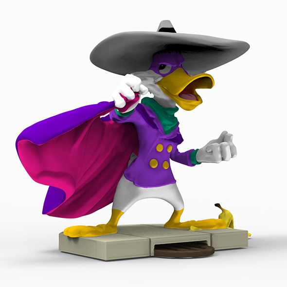 3DOcean Darkwing duck 3D print 13184017