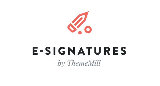ThemeMill HTML E-Signatures