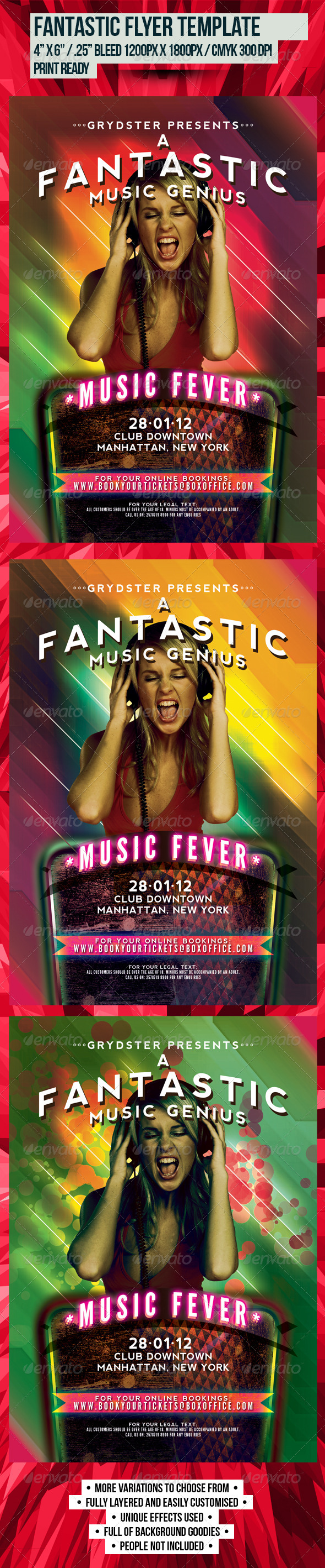 Fantastic Flyer Template