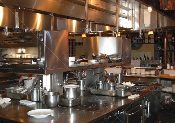 PhotoDune Restaurant kitchen 1321873