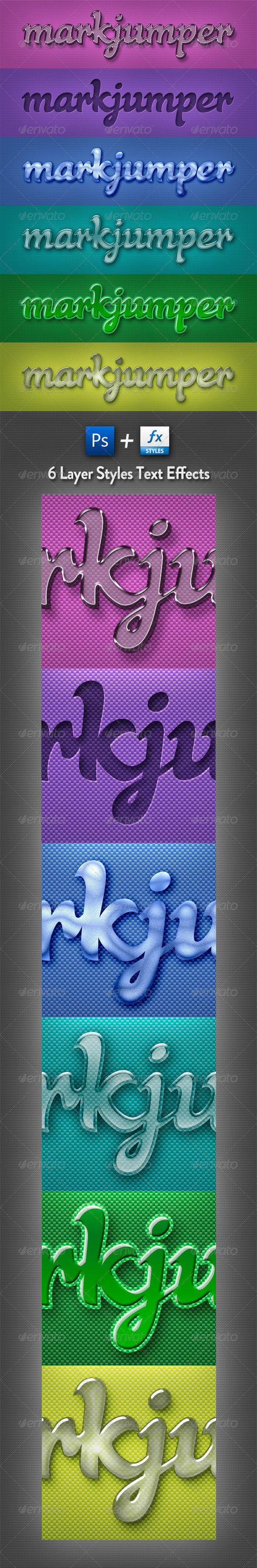 GraphicRiver Styles Text Effects 1322250