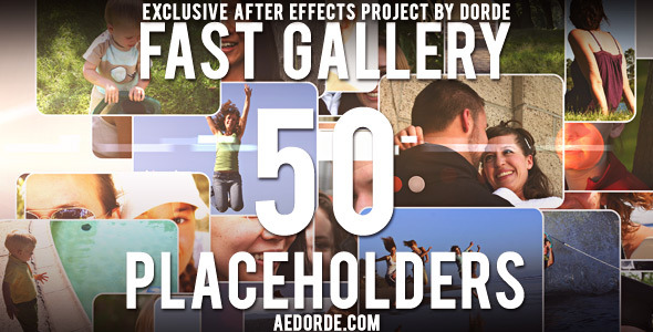 After Effects Project - VideoHive Fast Gallery 1322787