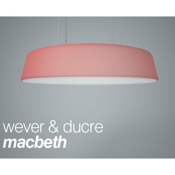Hanging lamp Macbeth from Wever & Ducre