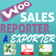 WooCommerce Product Sales Report and Exporter