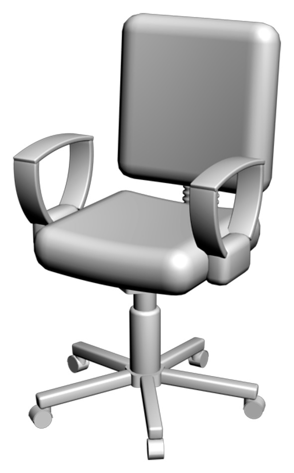 Office Chair 01 - 3DOcean Item for Sale