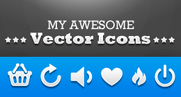My Awesome Vector Icons