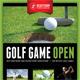 Golf Open Poster Template V05