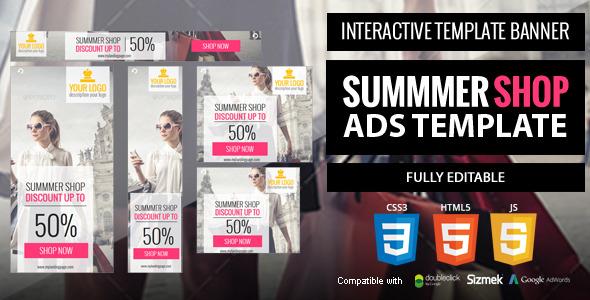 Summer-shop Ads Template