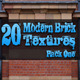 20 Modern Brick Textures - Pack One
