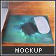 Aluminium Mousepad Mock-up