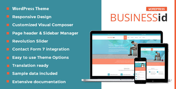 Download BusinessId – Responsive Business WordPress Theme nulled download