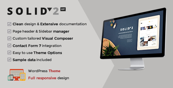 Download Solid – Responsive Business WordPress Theme nulled download