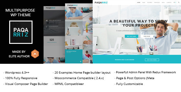 Download Paqarriz - Multipurpose WordPress Theme nulled download