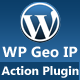WP Geo IP Action Plugin - CodeCanyon Item for Sale