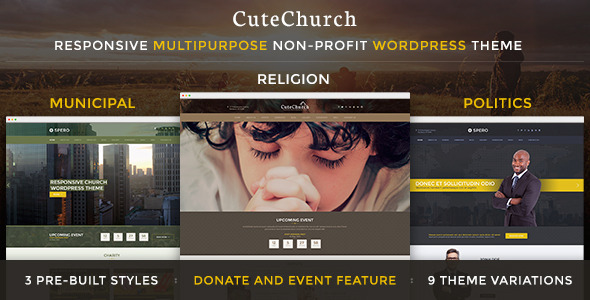 Download Church+Political+Municipal — CuteChurch WP Theme nulled download