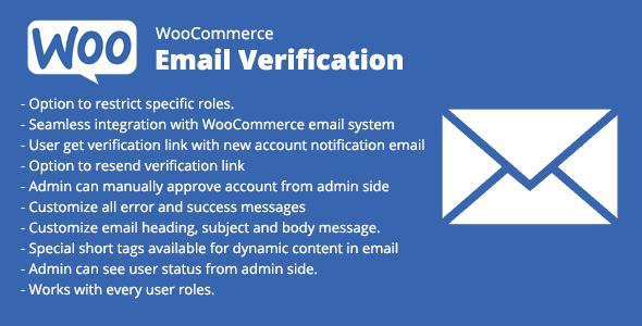 WooCommerce Email Verification