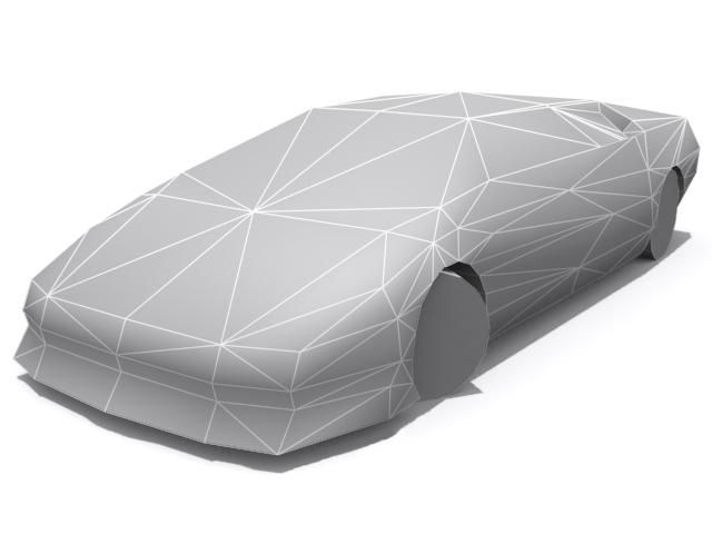 3DOcean Lamborghini Diablo Base 1324418
