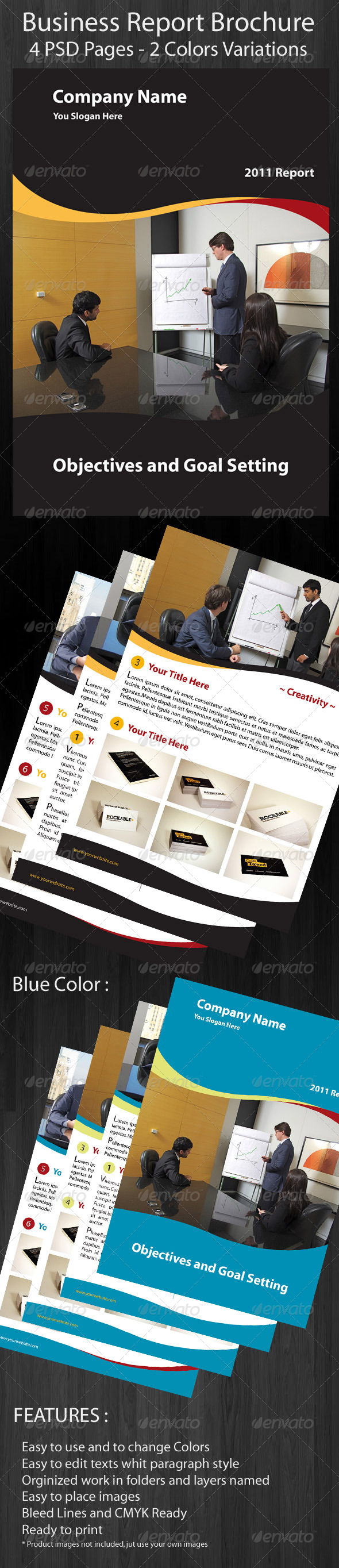 GraphicRiver Business Brochure Report 158697